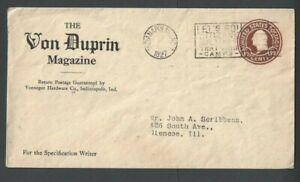1927 Indianapolis In Von Duprin Magazine For Specification Writers