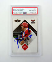 Mark Trumbo 2005 Justifiable Signed Autograph RC Rookie Card Slabbed PSA/DNA COA