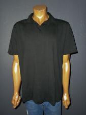 LULULEMON Athletic Polo Shirt BLACK Metal Vent Tech Pullover Mens Mint Cond XL