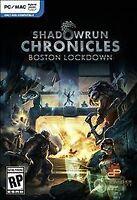 Shadowrun Chronicles Boston Lockdown (PC Games) - NEW™