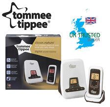 Tommee Tippee Baby Nursery Safety Monitor Wireless Digital Sound Alarm