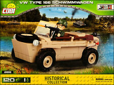 COBI VW Type 166 Schwimmwagen (2188) - 120 elem. - WWII German amphibious car