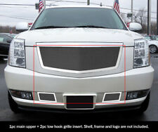 Fits Cadillac Escalade Stainless Steel Mesh Grille Grill Combo Insert 2007-2014
