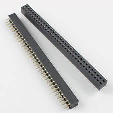 10Pcs 2mm Pitch 2x32 Pin 64 Pin Female Double Row Straight Pin Header Strip