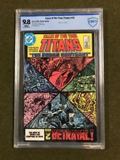 Tales of the (New) Teen Titans #43 (1984) CBCS 9.8 WP Judas Contract Part 2