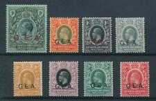 [55334] Tanganyika Occupation GEA good lot MH Very Fine stamps