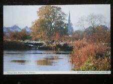 POSTCARD B40-9 DERBYSHIRE ROLISTON - BEEHIVE FARM - FISHING LAKES