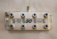 8 Way Holland HR S8 Power Passive Satellite Splitter  15-2150 MHz