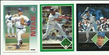 1992 Fleer Baseball Lot - You Pick - Includes Stars & Inserts