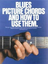 Blues Picture Chords and How to Use Them Sheet Music Book NEW 014004703