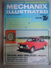 Mechanix Illustrated - Jan. 1971 - Car Buying Money Sav