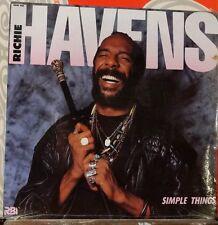 RICHIE HAVENS // Simple Things / ORIGINAL 1987 US LP / New SEALED!