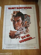 ANY WHICH WAY YOU CAN HUGE ORIGINAL 1980 CINEMA POSTER 47 X 63 CLINT EASTWOOD