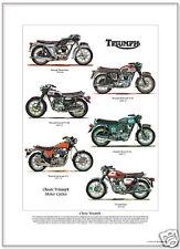 TRIUMPH ciclos del motor Estampa - Thunderbird Bonneville