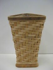 Longaberger Collectors Club Cc Heartwood Vase Set Basket New Retired
