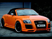 AUDI TT 8N R8 STYLE, BODY KIT FRONT AND REAR BUMPER LIP SIDE SKIRTS LIP GRILL