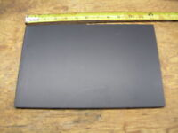 """BLACK ABS MACHINABLE PLASTIC SHEET .090/"""" X 6/"""" X 6/"""" HAIRCELL FINISH"""