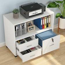 Office File Cabinet With Lockable Drawer Mobile Lateral Filing Cabinet With Storage