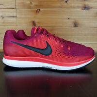 Nike Air Zoom Pegasus 34 Running Shoes 880555-603 RUSH MAROON BLACK