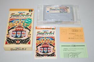 Sankyo Fever Fever Japan Nintendo Super Famicom sfc game