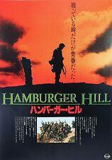 Hamburger Hill 1987 Don Cheadle Vietnam Japanese Chirashi Mini Movie Poster B5