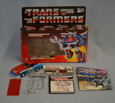 COMPLETE 1985 Hasbro Transformers G1 SMOKESCREEN With Box, Paperwork