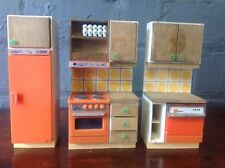 Kitchen Vintage Miniature Furniture Sets for Dolls