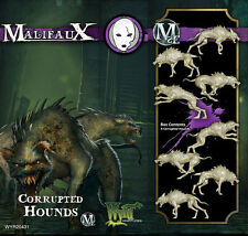 Malifaux Neverborn Corrupted Hounds box set plastic Wyrd miniatures 32 mm