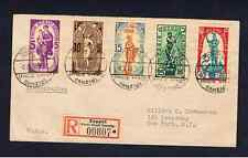 DANZIG 1937 WINTER RELIEF SET ON COVER