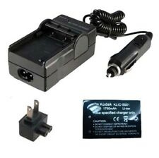 KLIC-5001 Battery AND Charger for KODAK Easyshare P-850 P-880 P850 P880 Camera