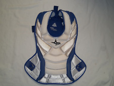 ALL-STAR CPW14.5PRO BASEBALL CATCHERS  CHEST PROTECTOR COLOR: WHITE/ROYAL