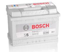 BOSCH 77 Ah Autobatterie S5 008 12V 77Ah Batterie ETN 577400078 NEU