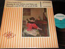 ULBRICH-QUARTETT Mozart Quintette für zwei Violinen../ DDR LP 1964 ETERNA 820466