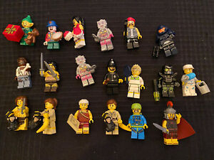 LEGO Random Minifigures series Lot of 19