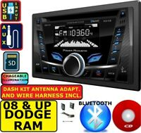 2009-2012 DODGE RAM CAR RADIO STEREO CD USB AUX BLUETOOTH PKG