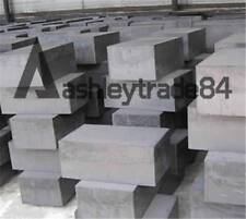 New 2pcs High Purity 99.9% Graphite Ingot Block Sheet 50mm * 50mm * 20mm