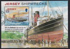 Jersey 2011. Shipwrecks  MS1598  CTO