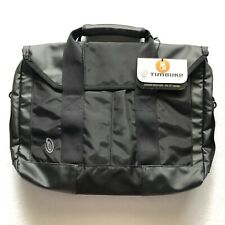 "NWT Timbuk2 Sidebar Briefcase 15"" Black Computer Laptop Messenger Shoulder Bag"