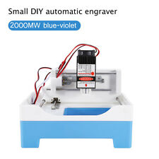 Laser Engraving Machine Printer Stamp Maker 2000mW Seal Mini Cutting Plotter TP