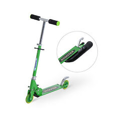 "36.2"" Folding 2in1 Snow Scooter Snowboard Kick-Scooter Ski Scooter Green"