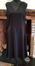 Donna Ricco dress black size 12