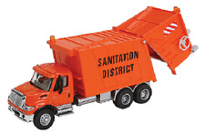 HO Garbage Sanitation Truck  International 7600  Walthers 949-11770
