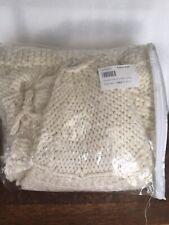 Pottery Barn, *NEW, Chunky Knit Tree Skirt, Ivory