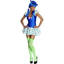 Strawberry Shortcake Blueberry Muffin Sexy Adult Women's Costume (XS/P 0-2)-NEW