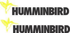 Humminbird Sticker 550 x 120 Marine Grade Material.