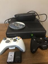 Microsoft Xbox 360 Bundle With 5 Games 250Gb Matte Black Console