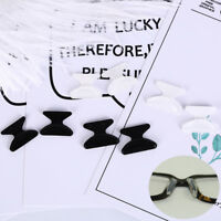 3pairs anti-slip silicone nose pads for eyeglass sunglass glasses spectaclesu OF