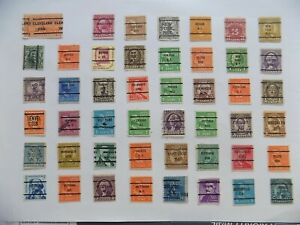 U S   Collection of all used PRECANCEL DEFINITIVES -9-19-G-We combine shipping
