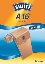 Swirl A16 5 beutel papier filter staubsauger AEG Saenger Comfort TM TX TY