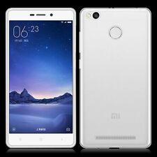 1x Ultra Thin 0.3mm TPU Clear Transparent Case Cover For Xiaomi Redmi 3 Pro/3S